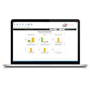 Fleet Complete alerts and reports dashboard.