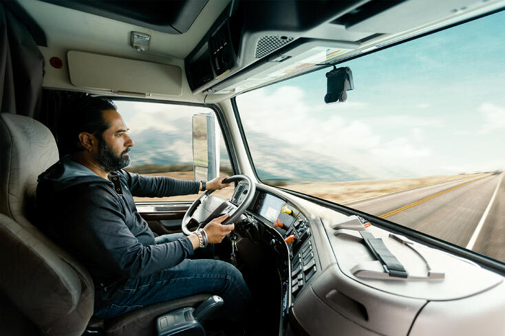 Vision 2.0 Driver in truck_side angle
