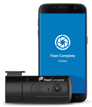 Fleet Complete Vision with dashcam.